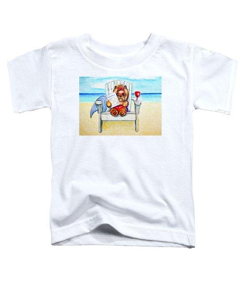 Sudoku At The Beach Toddler T-Shirt