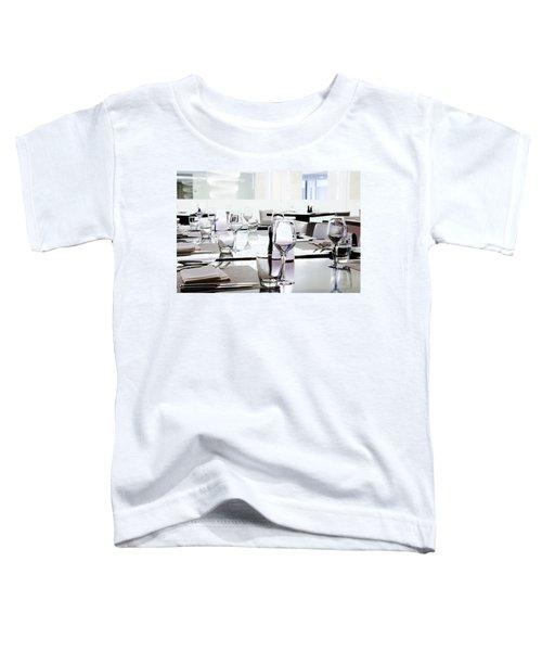 Table Setting Toddler T-Shirt