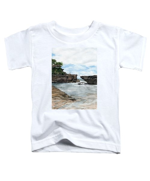 Tanah Lot Temple II Bali Indonesia Toddler T-Shirt