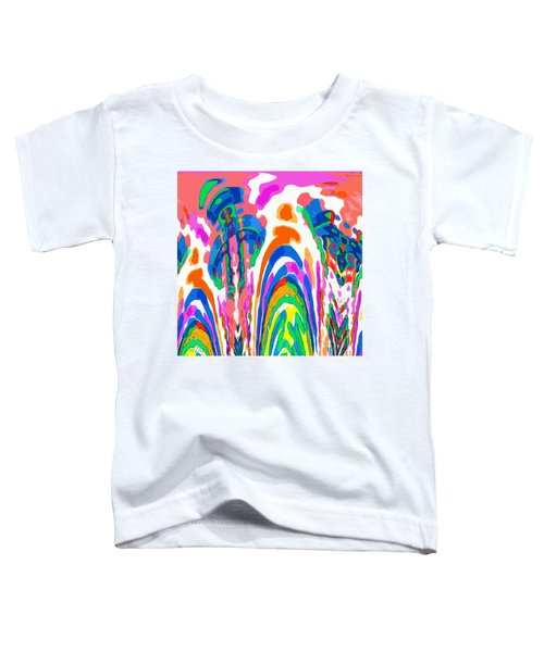The Colors Fountain Toddler T-Shirt