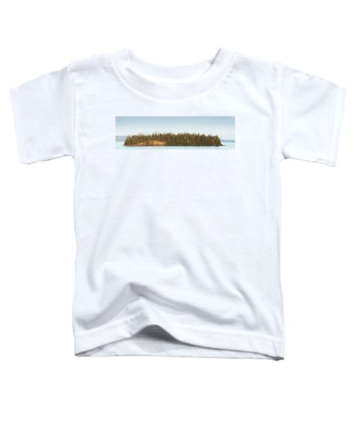 Trees Covering An Island On Lake Toddler T-Shirt