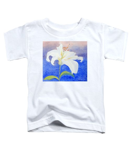 White Lily Toddler T-Shirt