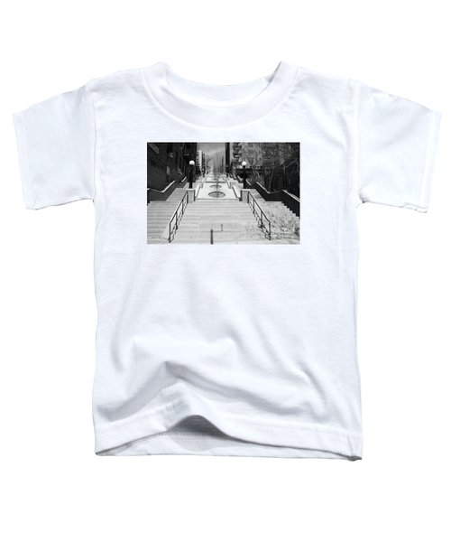 215th Street Stairs Toddler T-Shirt