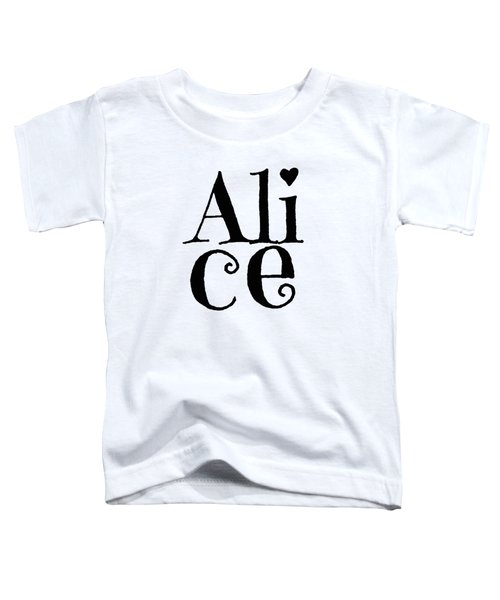 Alice Toddler T-Shirt