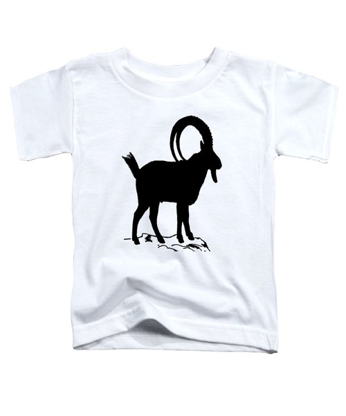 Alpine Ibex Toddler T-Shirt