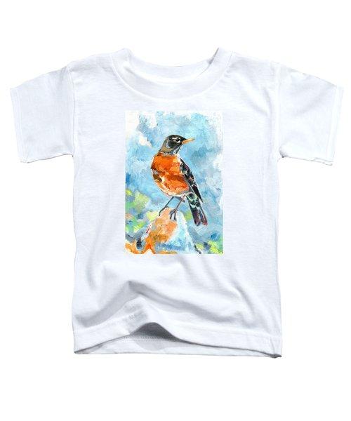 American Robin Toddler T-Shirt