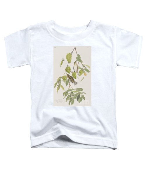 Autumnal Warbler Toddler T-Shirt by John James Audubon