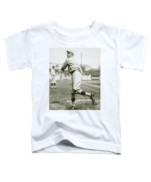 Babe Ruth Pitching Toddler T-Shirt