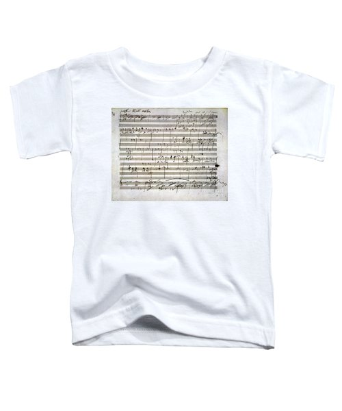 Beethoven Manuscript Toddler T-Shirt
