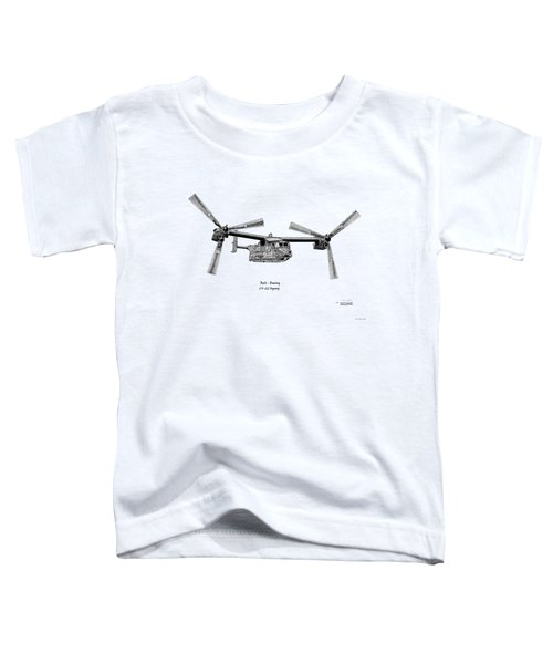 Bell Boeing Cv-22b Osprey Toddler T-Shirt
