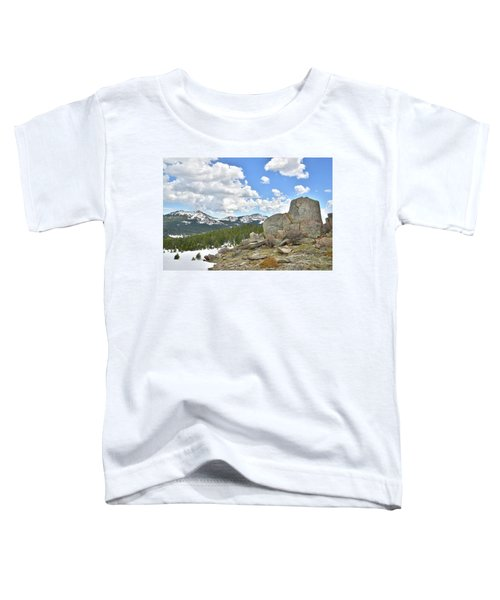 Big Horn Mountains In Wyoming Toddler T-Shirt