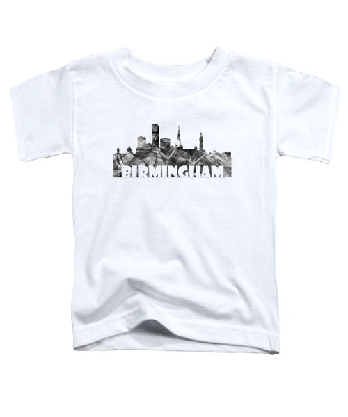 Birmingham England Skyline Toddler T-Shirt