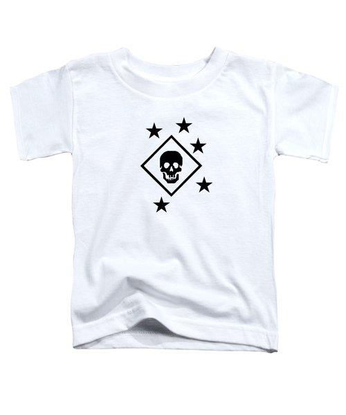Black Raider Patch Toddler T-Shirt