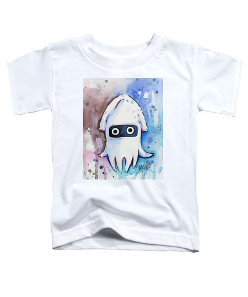 Blooper Watercolor Toddler T-Shirt