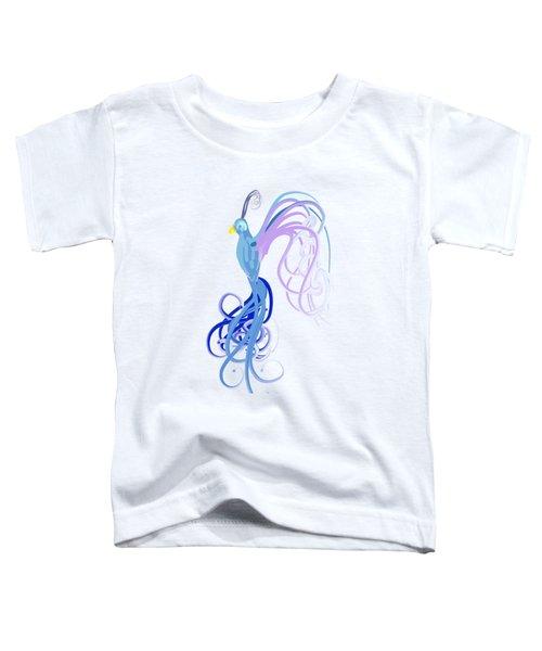 Blu Toddler T-Shirt by Diq