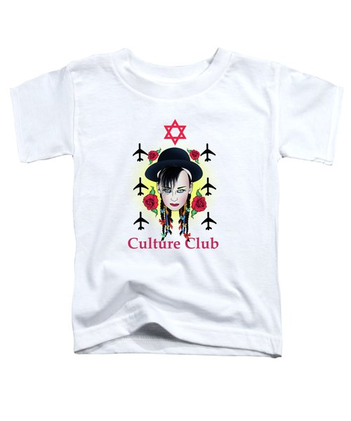 Boy George Toddler T-Shirt by Mark Ashkenazi