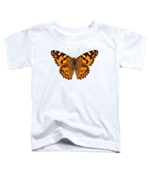 Butterfly Species Vanessa Cardui  Toddler T-Shirt