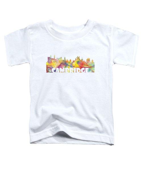 Cambridge England Skyline Toddler T-Shirt