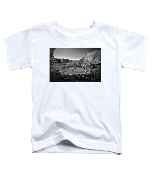 Toddler T-Shirt featuring the photograph Canyonlands Kiva by Whit Richardson