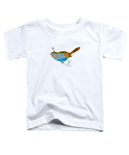 Chickadee Toddler T-Shirt by Mordax Furittus