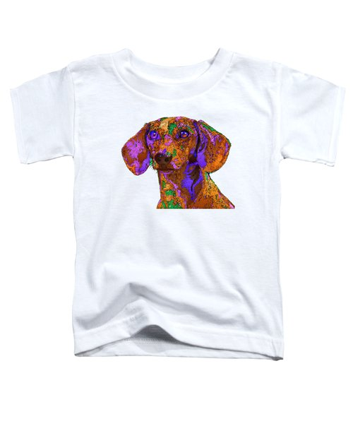 Chloe. Pet Series Toddler T-Shirt