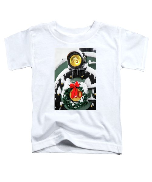 Christmas Train At Pacific Junction Toddler T-Shirt