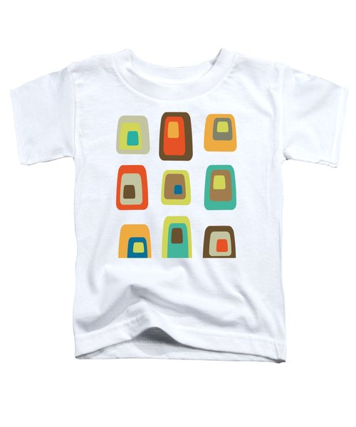 Concentric Oblongs  Toddler T-Shirt