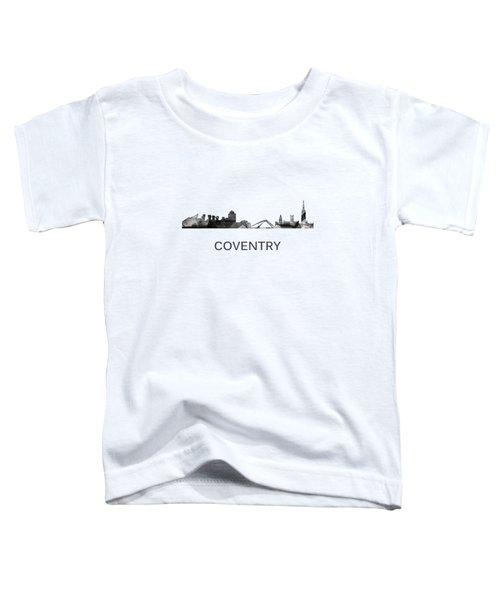 Coventry England Skyline Toddler T-Shirt