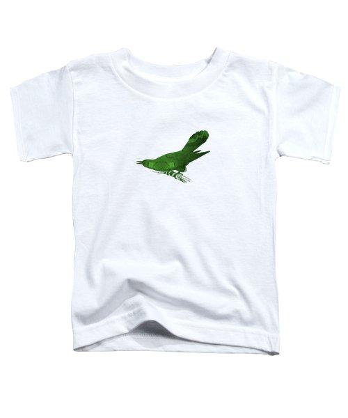 Cuckoo Toddler T-Shirt by Mordax Furittus