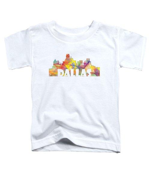 Dallas Texas Skyline Toddler T-Shirt