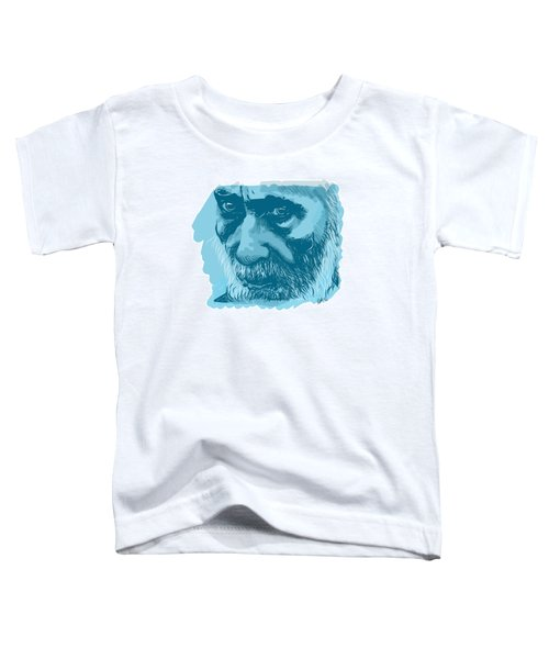 Toddler T-Shirt featuring the digital art Eyes by Antonio Romero