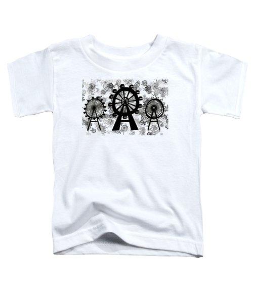 Ferris Wheel - London Eye Toddler T-Shirt