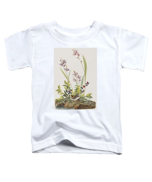 Field Sparrow Toddler T-Shirt by John James Audubon