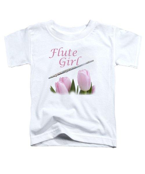 Flute Girl Toddler T-Shirt