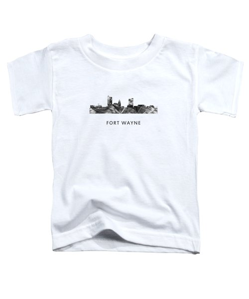 Fort Wayne Indiana Skyline Toddler T-Shirt