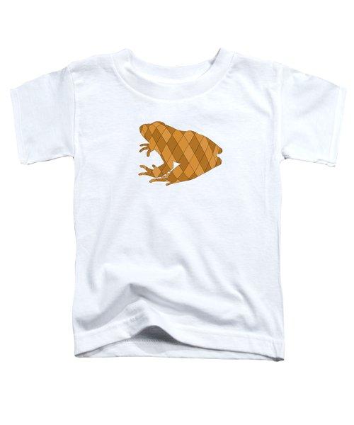 Frog Toddler T-Shirt by Mordax Furittus