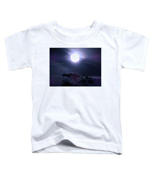 Full Moon Falling Toddler T-Shirt