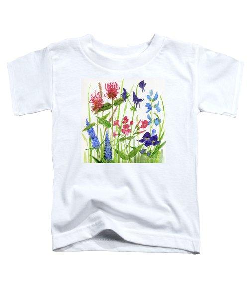 Garden Flowers Toddler T-Shirt