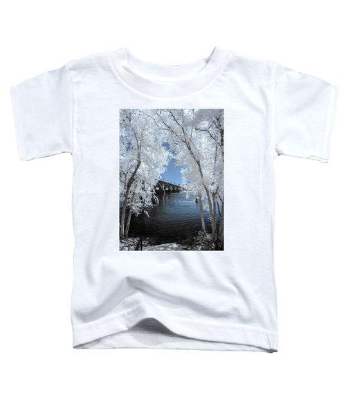 Gervais St. Bridge In Surreal Light Toddler T-Shirt