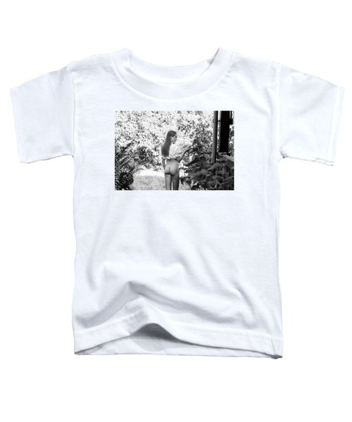 Girl In Swedish Garden Toddler T-Shirt