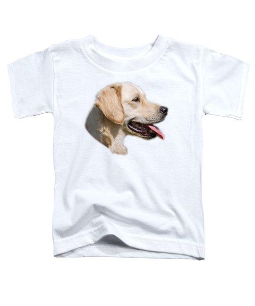 Golden Retriever Toddler T-Shirt