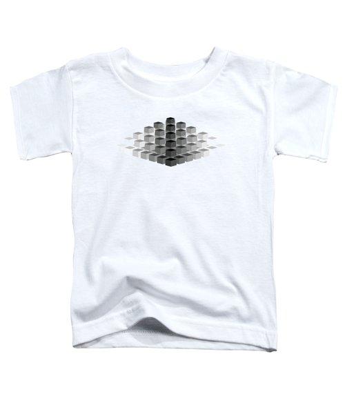 Gradient Pyramid Toddler T-Shirt