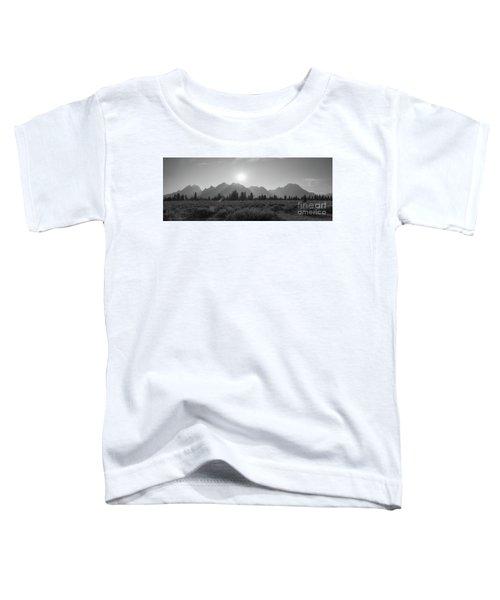 Grand Teton National Park Sun Burst Toddler T-Shirt
