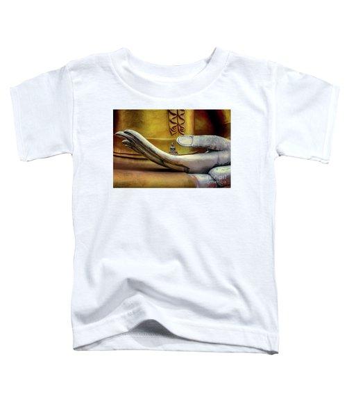 Hand Of Buddha Toddler T-Shirt