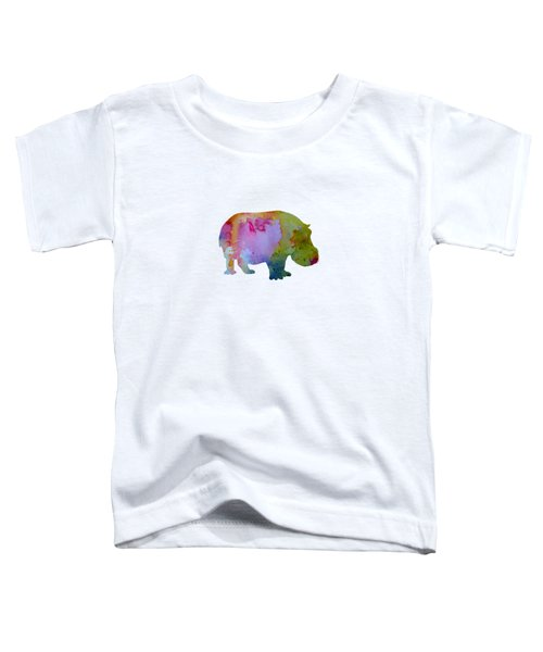 Hippopotamus Toddler T-Shirt