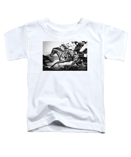 Horse Racing Toddler T-Shirt