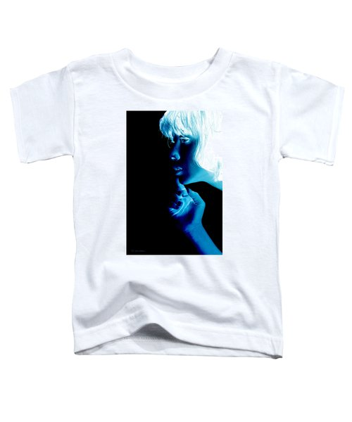 Inverted Realities - Blue  Toddler T-Shirt