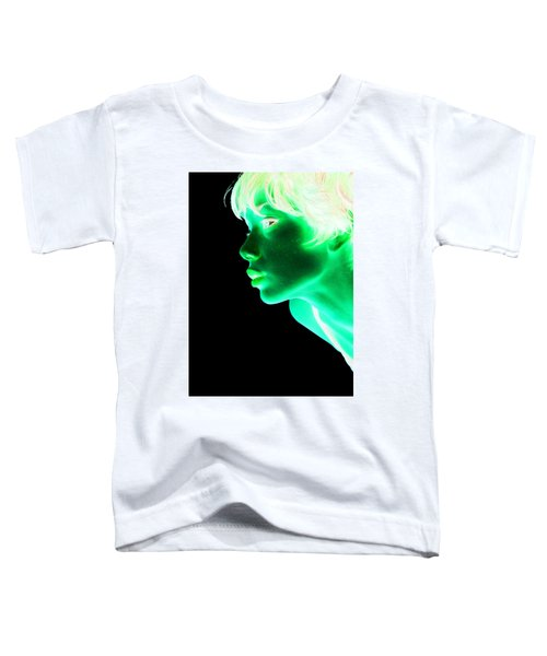 Inverted Realities - Green  Toddler T-Shirt