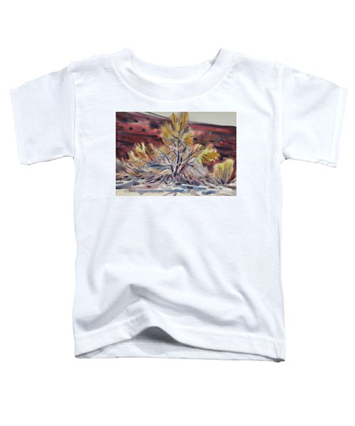 Ironwood Toddler T-Shirt by Donald Maier