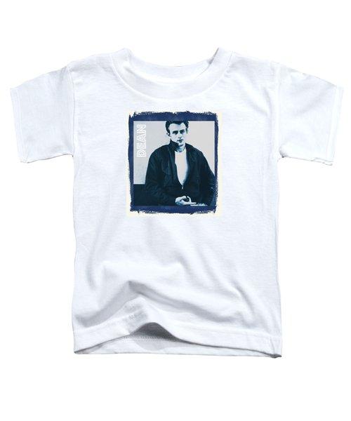James Dean Toddler T-Shirt by John Springfield